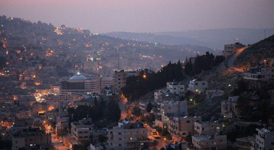Nablus Twilight